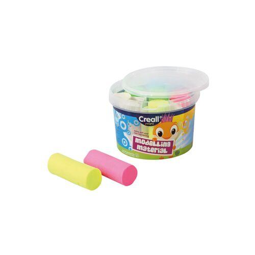 Creall U3 Modellier-Knete im Eimer, 5 Farben
