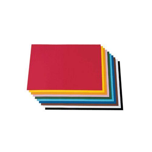 Folia Tonzeichenpapier, 50 x 70 cm, 100 Bogen in 10 Farbtönen