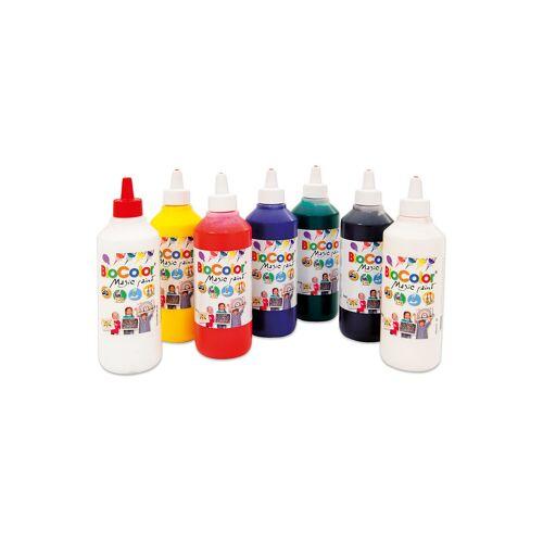 edumero Bio-Color-Set: 7 Flaschen mit 500 ml