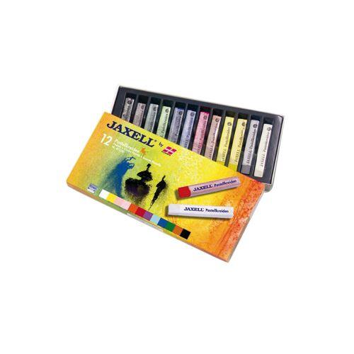 Jaxell Pastellkreiden, 12 Farben