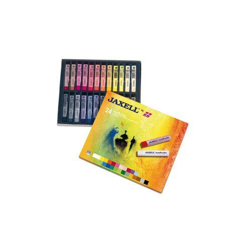 Jaxell Pastellkreiden, 24 Farben