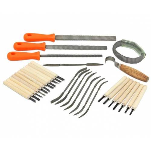 edumero Werkzeugset für Speckstein