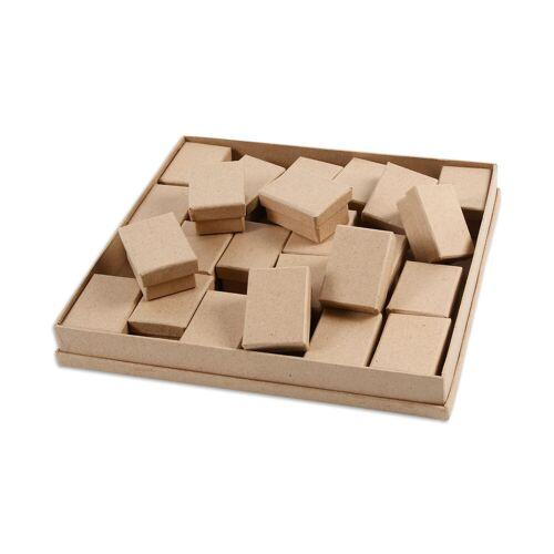 Creotime Adventskalender-Pappschachteln, 24 Stück