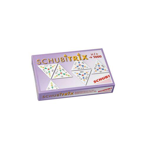 SCHUBITRIX - Multiplikation und Division bis 1000