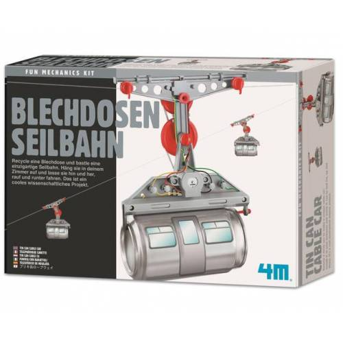 edumero Blechdosen Seilbahn - Bausatz