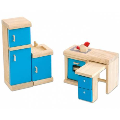 PlanToys Puppenhausmöbel Neo Küche