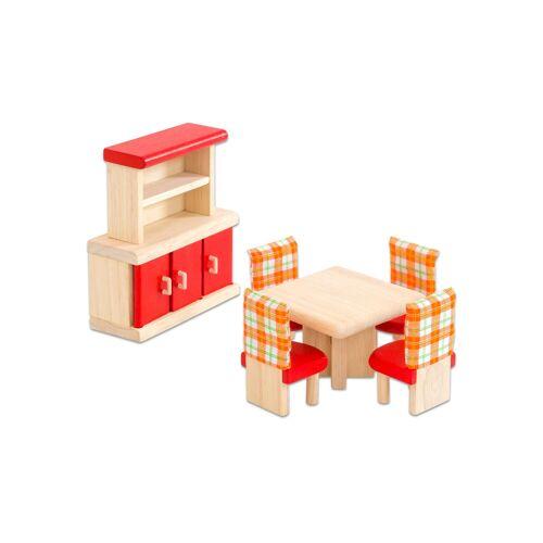 PlanToys Puppenhausmöbel Neo Esszimmer