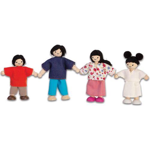 PlanToys Puppenhausfamilie asiatisch