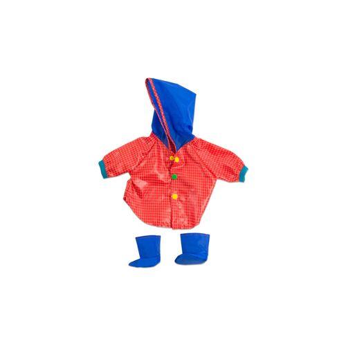 Miniland Puppenkleidung Regenmantel und Stiefel