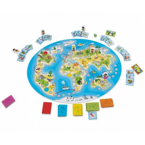 edumero Brettspiel: Kinder der Welt