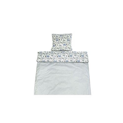 LIFETIME Baby-Bettwäsche Baby-Bettwäsche 40x60 + 100x135 cm Sternchen grau, Einzelbett