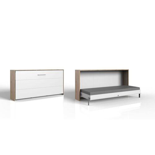 WIMEX Schrankbett Tonoas Schrankbetten 90x200 cm weiß