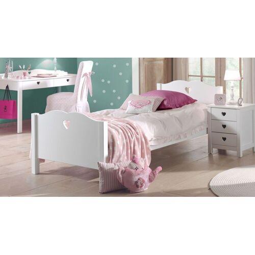 VIPACK Jugendbett Asami Bett Jugendliche 90x200 cm weiß