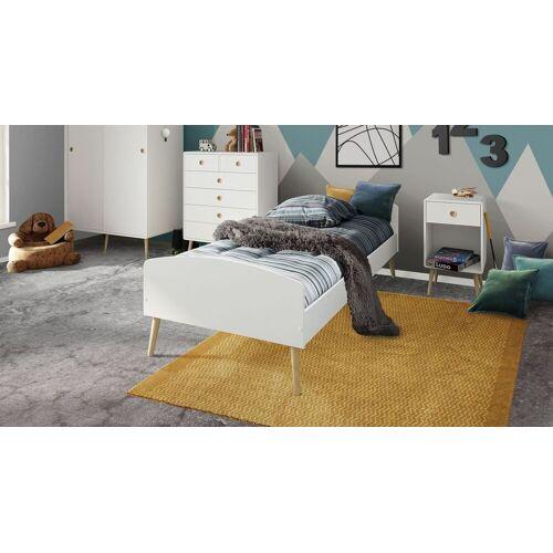 Steens Jugendbett Zuria Bett Jugendliche 90x200 cm weiß