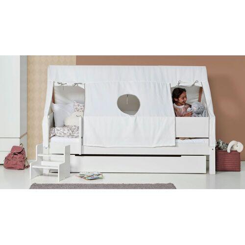 Manis-h Kinderbett Kids Town Tipi Kinderbett 90x200 cm weiß