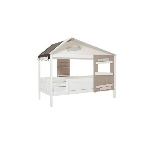 LIFETIME Hüttenbett Hideout Kinderbett 90x200 cm weiß
