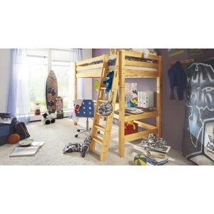 Infantil Hochbett Kids Paradise Stockbett 90x200 cm Kiefer natur