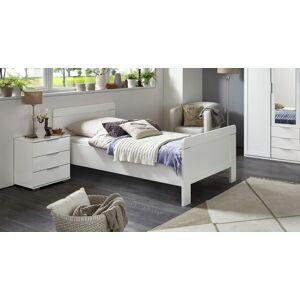 WIMEX Komfort-Einzelbett Aradeo Bettgestell 90x200 cm weiß