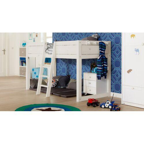 LIFETIME Kinderbett 4-in-1 Kinderbett 90x200 cm weiß