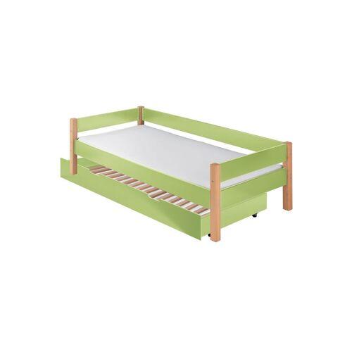Infantil Ausziehbett Kids Nordic Kinderbett 90x200 cm grün