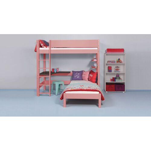 Manis-h Stockbett 2 Etagen 90x200 cm Rot
