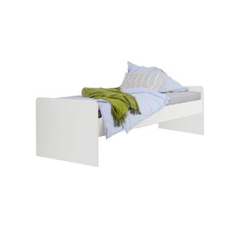 WIMEX Jugendbett Solero Bett Jugendliche 90x200 cm weiß
