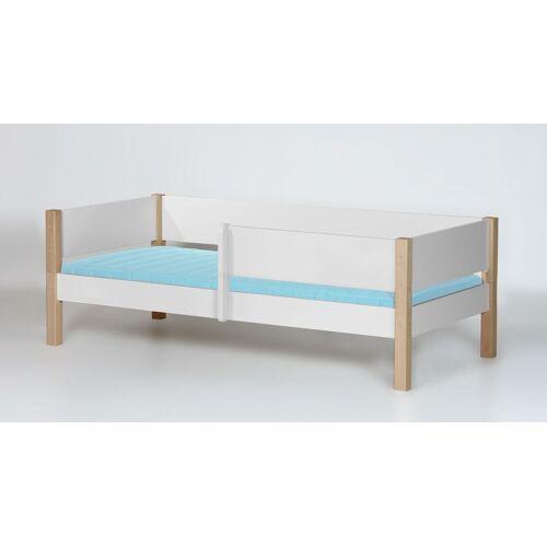 Manis-h Kinderbett Kids Town Kinderbett 90x200 cm weiß deckend
