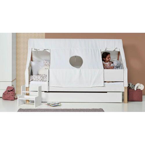 Manis-h Kinderbett Kids Town Tipi Kinderbett 90x200 cm weiß deckend