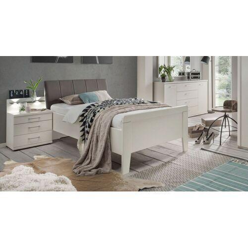 Wiemann Komfort-Einzelbett Casperia Bettgestell 90x200 cm weiß