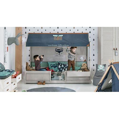 LIFETIME Kinderbett 4-in-1 Forest Ranger Kinderbett 90x200 cm weiß