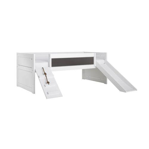 LIFETIME Kojenbett Climb & Slide Kinderbett 90x200 cm weiß