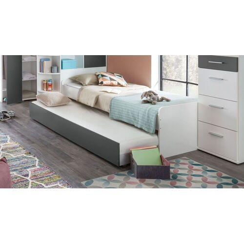 WIMEX Jugendbett Facundo Kinderbett 90x200 cm weiß