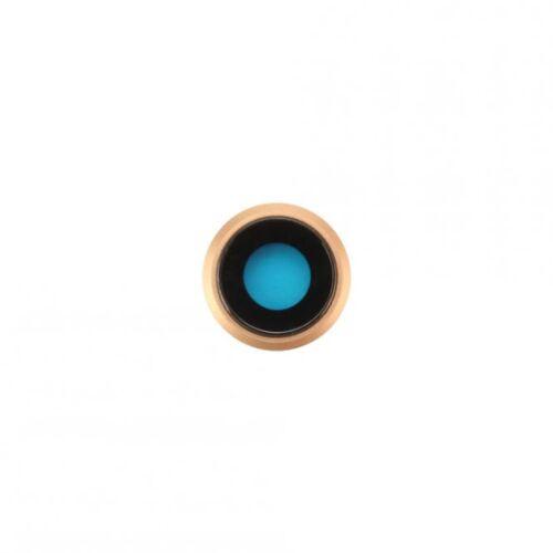 Apple Kamera-Linse mit Rahmen für iPhone 8, gold