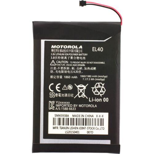 Motorola Akku Original Motorola EL40, für Motorola Moto E XT1022