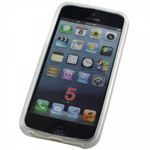 EMCOM TPU-Case für Apple iPhone 5/5S, SE, transparent