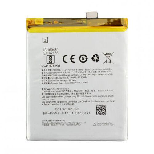 OnePlus Akku Original OnePlus BLP657 für OnePlus 6, OnePlus 5T