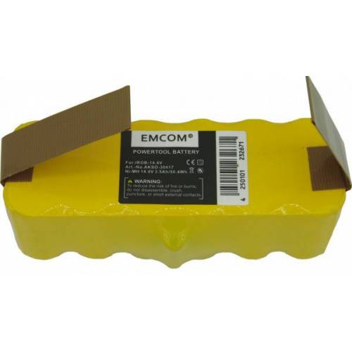 EMCOM Akku für Akku-Sauger iRobot Roomba 500, 510, 540, 580, 610, 625, 670, 760, 78...