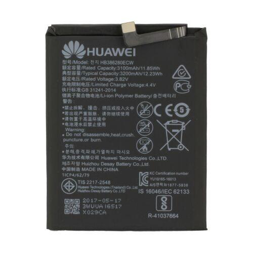 Huawei Akku Original Huawei für Honor 9, Mate 9, P10, Typ HB386280ECW