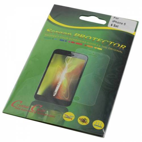EMCOM Displayschutzfolie für iPhone 5/5S, iPhone SE Front+ Rückseite, 6 Folien Fron...