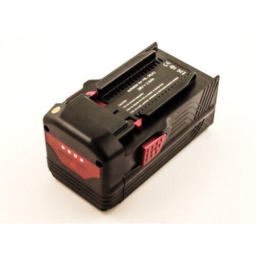EMCOM Akku für Hilti TE 6-A Li, TE 6-A36, WSR 36-A, SFL 36-A, wie B30, B36, 36 Volt...