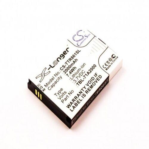 EMCOM Akku für TP-LINK M5350, TL-TR761, TL-TR861 WLAN / LTE / WiFi Router / Hotspot...
