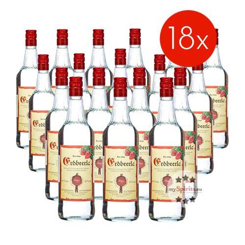 Fein Prinz Erdbeerla / 34% Vol. - 18 Flaschen (34% Vol., 1,0 Liter)