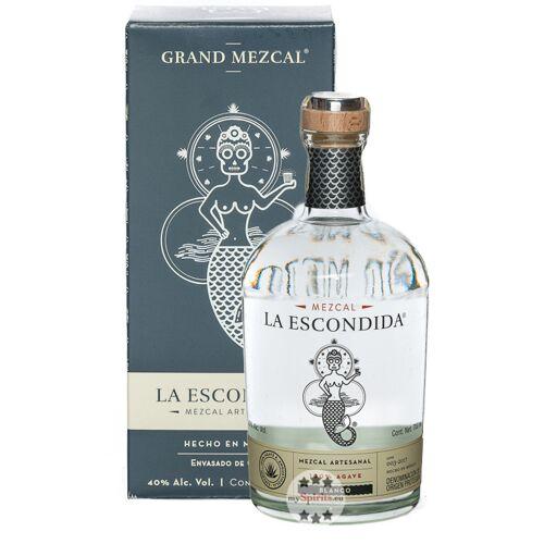 Grand Mezcal La Escondida Mezcal Blanco (40 % Vol., 0,7 Liter)