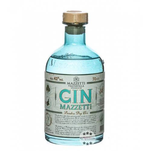 Mazzetti d'Altavilla Mazzetti Gin (42 % Vol., 0,7 Liter)