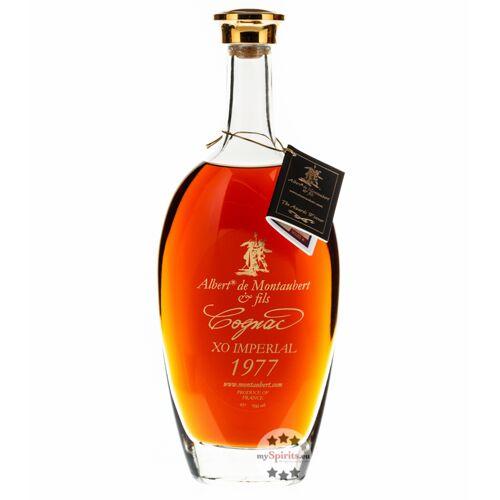 Albert de Montaubert & Fils Albert de Montaubert Cognac XO Imperial 1977 (45% Vol., 0,7 Liter)