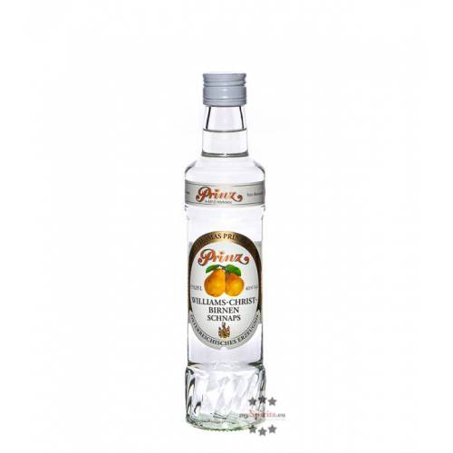 Fein Prinz Williams-Birnen Schnaps  (40 % Vol., 0,35 Liter)