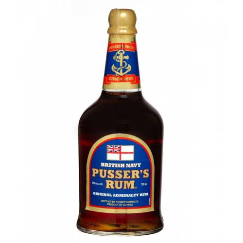 Pusser's Rum Ltd. Pusser's British Navy Rum Original Admirality (40 % Vol., 0,7 Liter)