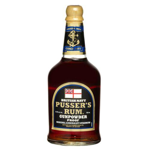 Pusser's Rum Ltd. Pusser's Black Label Rum Gunpowder Proof (54,5 % Vol., 0,7 Liter)