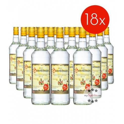 Fein Prinz Hausschnaps / 34% Vol. - 18 Flaschen (34% Vol., 1,0 Liter)