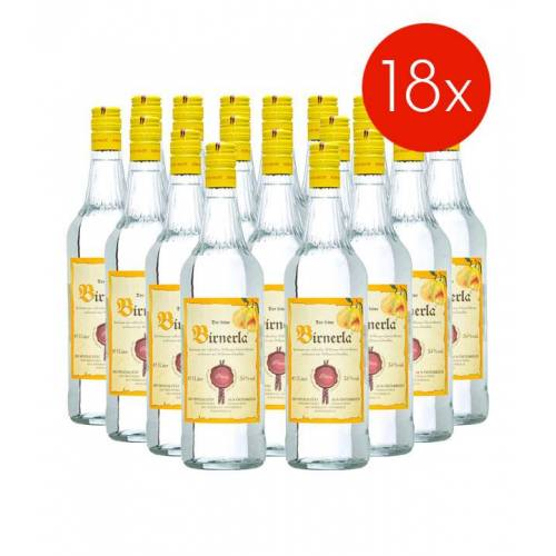 Fein Prinz Birnerla / 34% Vol. - 18 Flaschen (34% Vol., 1,0 Liter)